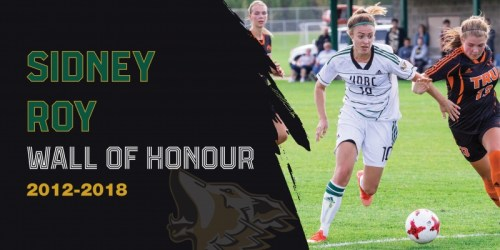 Women's soccer trailblazer Sidney Roy joins Wall of Honour
