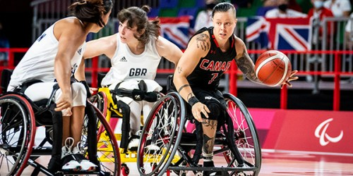 Dandeneau nets 19 points as Canada downs Japan in paralympic wheelchair basketball