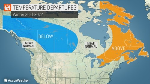 Winter to be 'fairly stormy,' according to AccuWeather