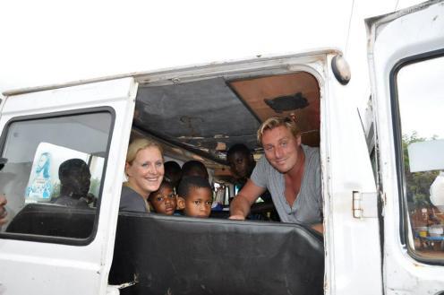Reis naar Ghana, naar de Hand-in-Hand-community