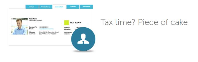 MP tax time piece of cake