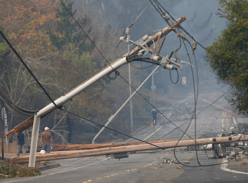 East Bay Times: PG&E power lines linked to Wine Country fires