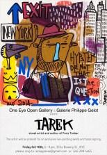Exposition Tarek à New York