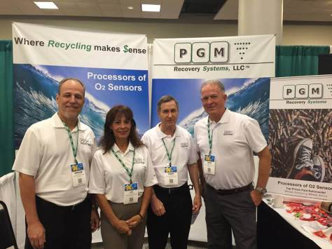 PGM Crew - recycling catalytic converters and recycle oxygen sensors
