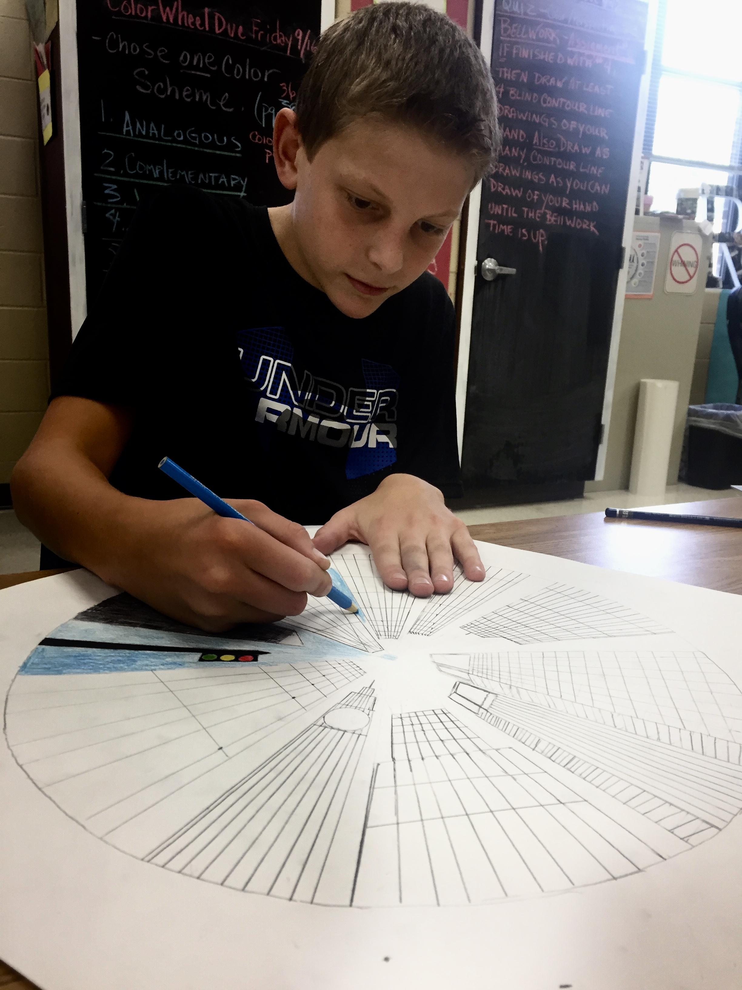 7th Grade Circle Cities Pgmsart