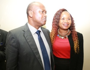 Avec Mr Azoumana MOUTAYE. Ministre de l`Entreprenariat National, de la Promotion des PME et de l`Artisanat