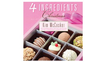The 4 Ingredient Christmas cookbook.
