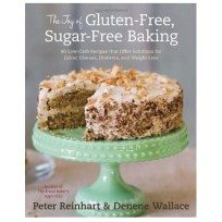 The Joy of Gluten-Free, Sugar-Free Baking cookbook.