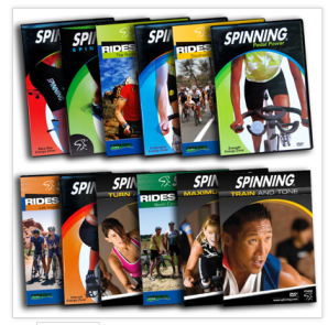 Spinning.com DVD of the Month Club is a great holiday gift idea.