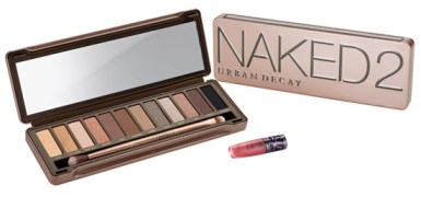 Urban Decay's Naked 2 eyeshadow Palette is a great holiday gift idea for beauty lovers.