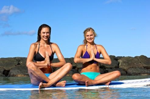 bliss paddleboard yoga