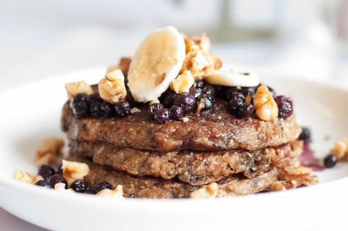 oatmeal banana pancakes