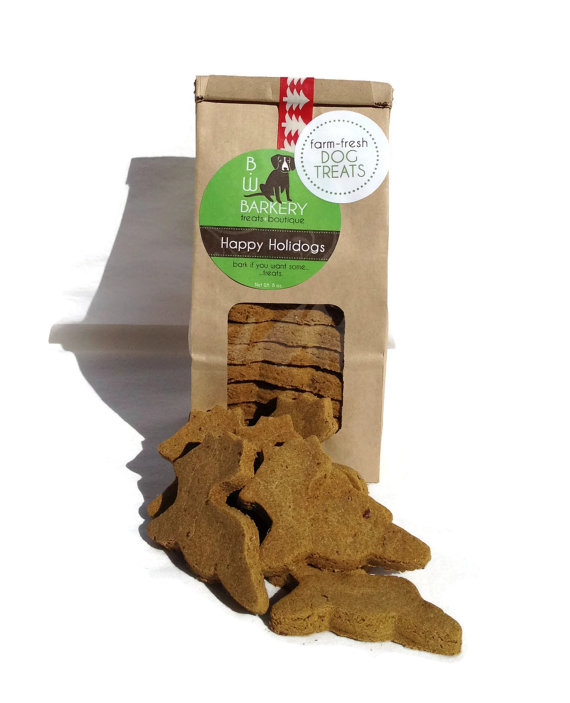organic christmas dog treats