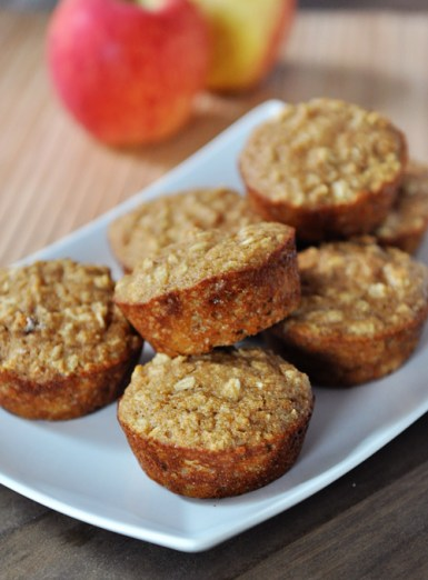 Applesauce Oat Muffins | Spryliving.com