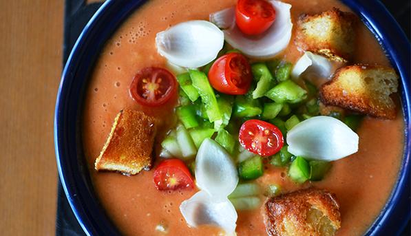 Grilled Gazpacho | SpryLiving.com