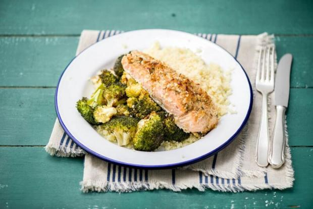 Walnut-Crusted Salmon