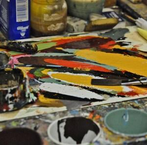 A painter's palette