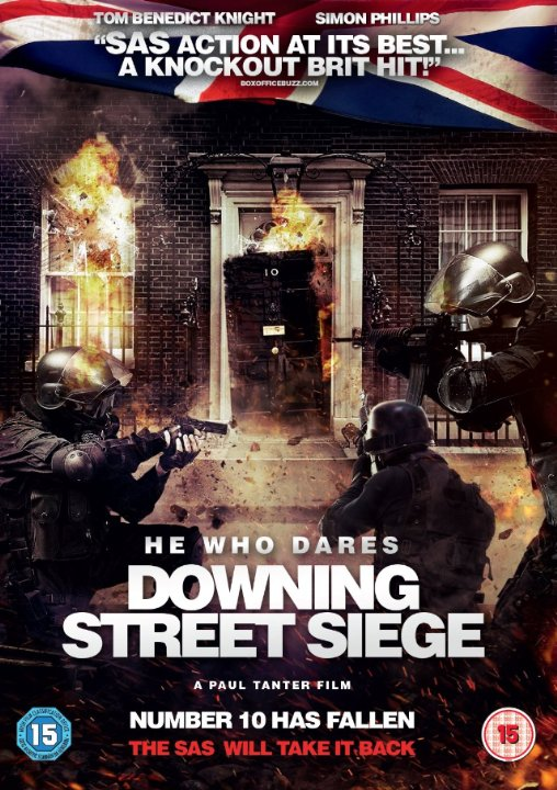 HE WHO DARES: DOWNING STREET SIEGE (feature film) prod. sound mixer
