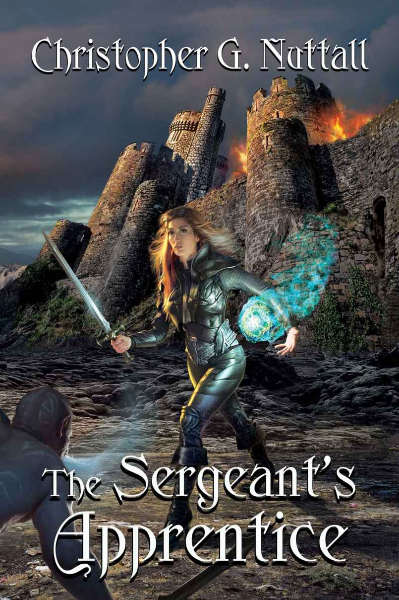 The Sergeant's Apprentice -Emily bags a third necromancer. Fun read. Great Book.