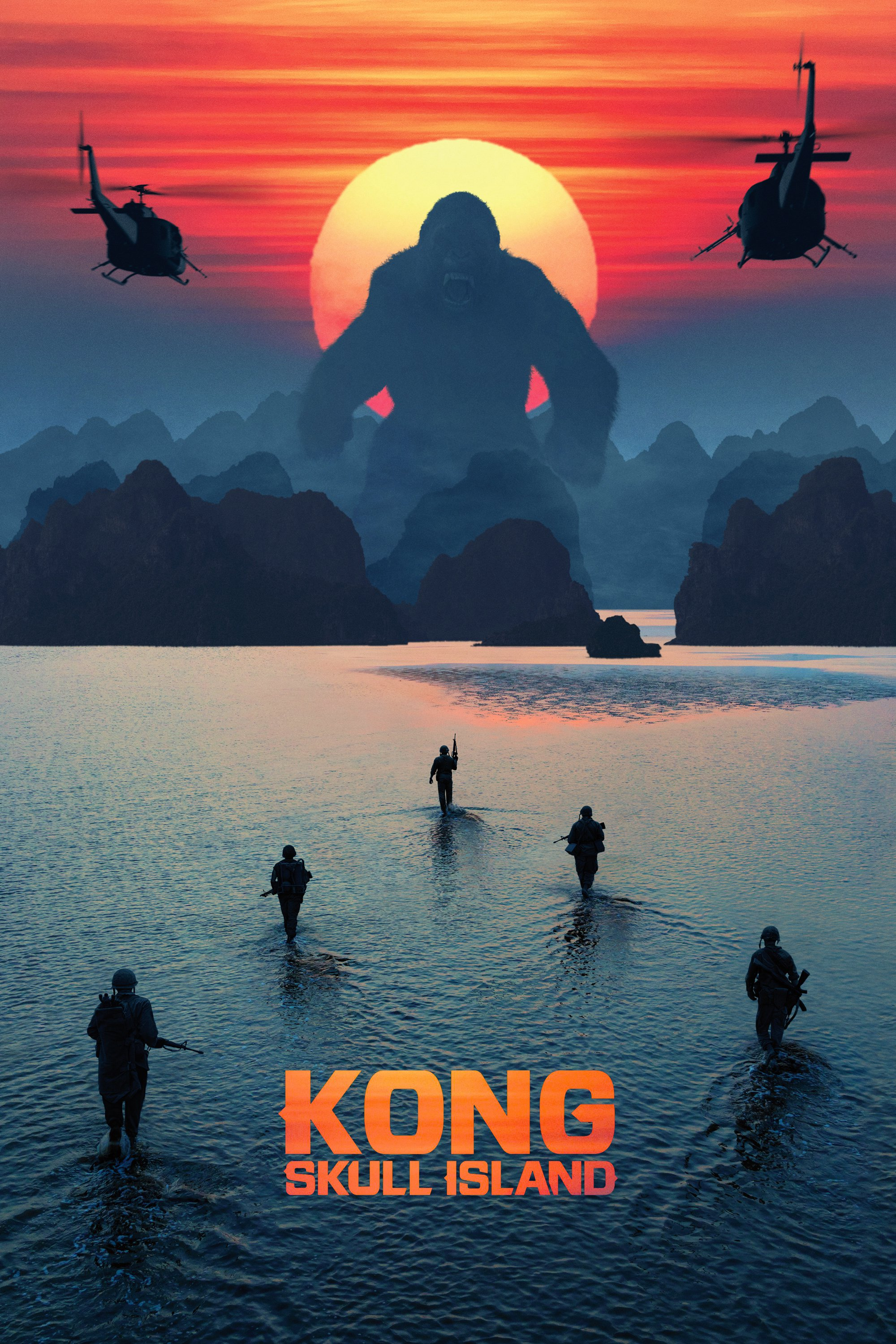 Kong Skull Island: Good movie, crappy script