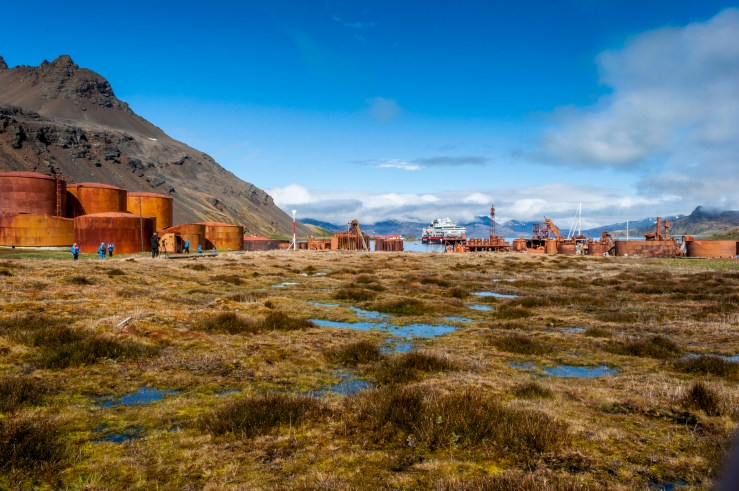 Grytviken whale stations.