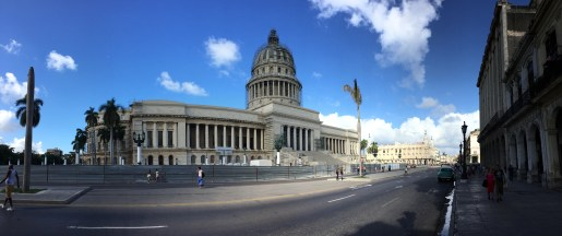 The original American government building in Havana