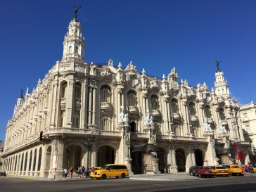 The best preserved theatre of Cuba from the American era