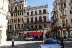 A quieter area of Old Havana where buildings with different levels of maintenance co-exist
