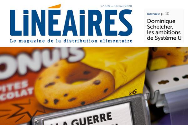 Journaliste grande distribution Linéaires