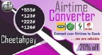 Cheetahpay.com.ng Airtime To Cash Website Converter