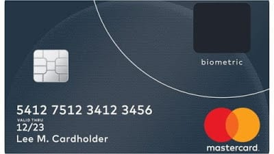 MasterCard with FingerPrint Scanner - New era of Technology