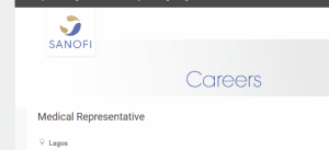 Medical Representative Job at Sanofi