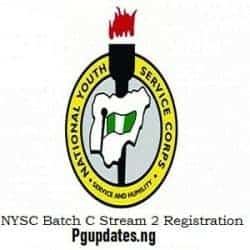NYSC Batch C Stream II 2018 Orientation Camp Date