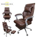 Synthetic Leather Designed Reclining Office Chair Computer Chair Staff Chair Swivel Chair Gaming Home Office Chair Black 2 6758