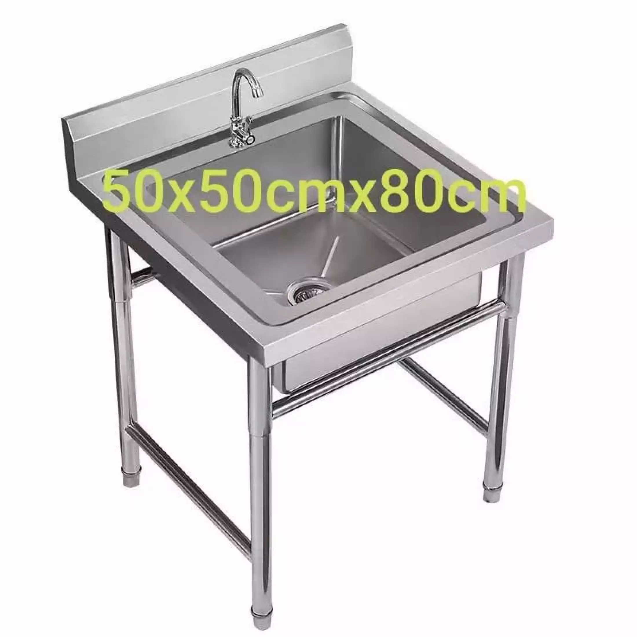 kitchen sink with stand