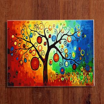 Fortune Tree Diy Do It Yourself Oil Painting By Numbers