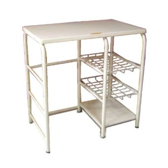 Krissen Kgs124 Gas Stove Stand With Lpg Roller