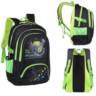 7429060a7fcf Kids Backpack Casual Fashion School Bags In Primary School for Boys Children  Waterproof Backpacks - green