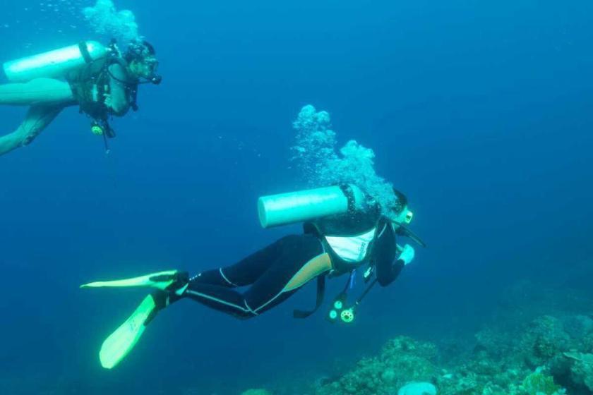 フィリピン留学の週末にバタンガスでダイビング
