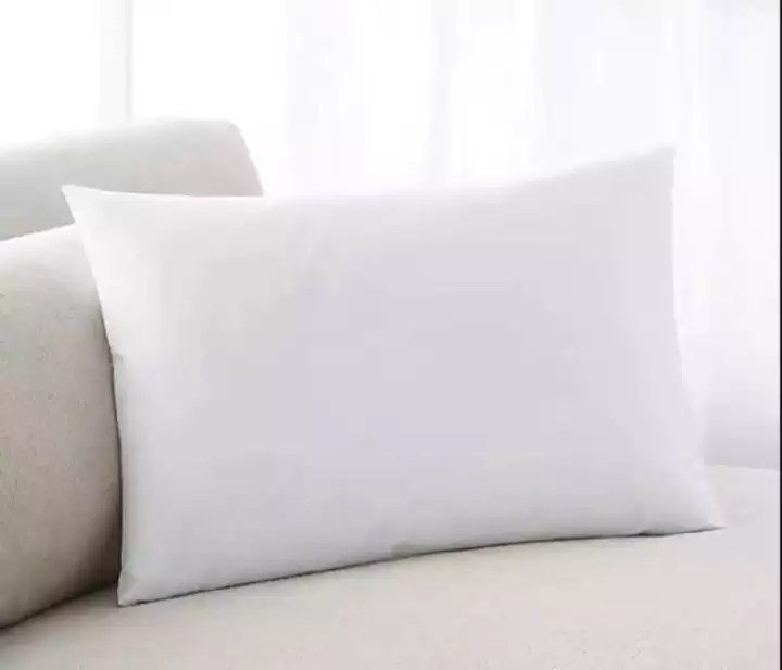 home club plain white rectangle pillow very nice and comfortable to use 18x28
