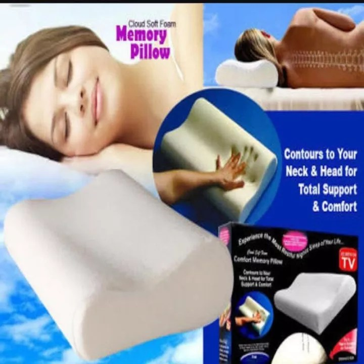 all in best choice foam pillow orthopedic pillow memory foam sleep innovations relaxation head to sleep memory new comfortable space wave pillow