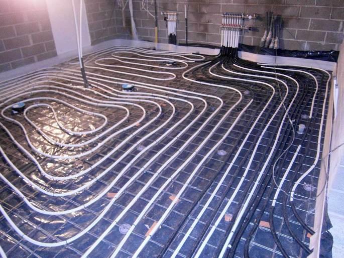 Põrandakütte-paigaldus