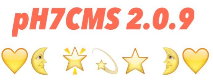pH7CMS 2.0.9 Released