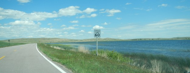 Lakeside, Nebraska is beside a lake! Duh!