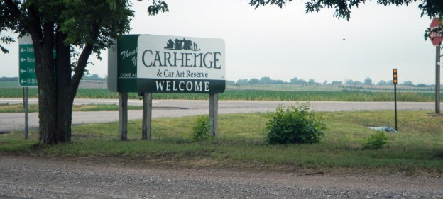 But there are diversions along the road. For example, Carhenge, which is managed by the City of Alliance.