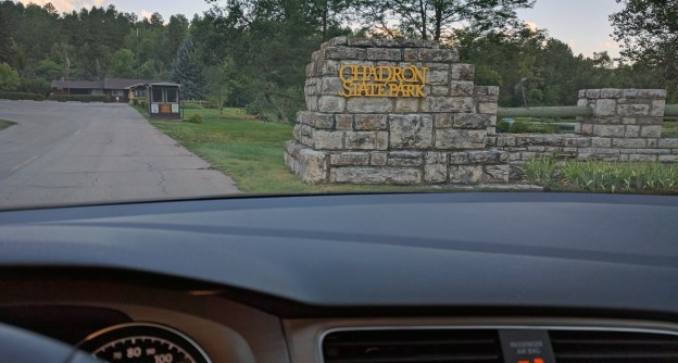 Chadron State Park is Nebraska's first state park. It was established in 1921.
