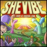 SheVibe Willy Wonka dildo logo