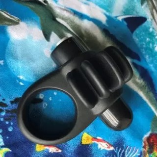 Charged Skooch vibrating cock ring fins marine life dolphin