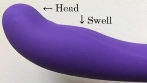 Blush Novelties Luxe Purity 2 dildo curves