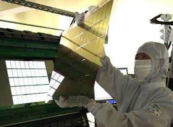 "340x samsungamoledpanels - Samsung começará a fabricar Super AMOLED de 7"""
